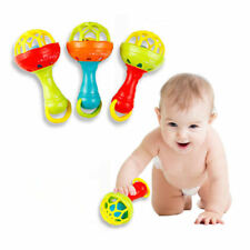Baby Boys Girl Rattle Toys Newborn Teether Design Plush Hand Bells for Christmas