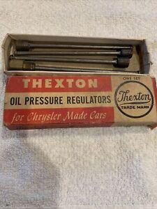 Mopar NOS Desoto Chrysler 1937 - 48 oil pressure regulators Set C See Pictures