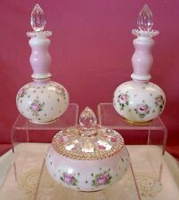 "FENTON GLASS""VINTAGE""PAINT""CHARLETON""ROSE""MIST""TURNED OUT""PERFUME&POWDER""VANITY"