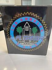 Vintage 1986 La Gear 3 Ring Promotional Binder Very Rare La Gear Los Angeles
