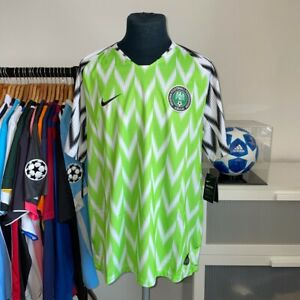 BNWT Nike Authentic Nigeria Home Football 2018 World Cup - XXL