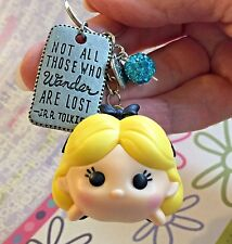 Tsum Tsum Figural Collectable Key Chain Backpack Clip Alice LARGE Handmade