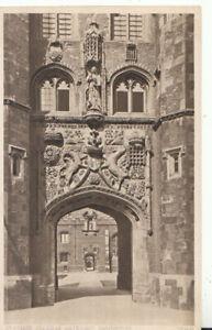 Cambridgeshire Postcard - St John's College Gateway - Cambridge - Ref TZ5859