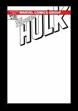 Incredible Hulk 181 Marvel FACSIMILE EDITION 1st Wolverine Blank Sketch Variant
