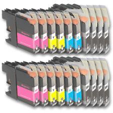 20 Druckerpatronen für Brother DCP-J132W DCP-J552DW DCP-J752DW DCP-J4110DW
