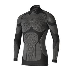 Alpinestars Motorcycle Ride Tech Winter Long Sleeve Black & Grey - 4752117106XS