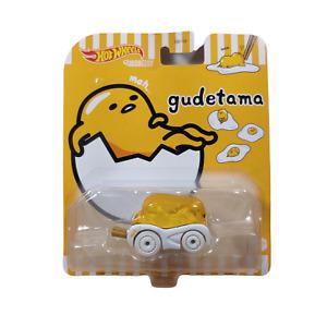 Hot Wheels Character Cars Gudetama, Animation Vehicle By Mattel Toys