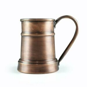 Huge %100 Pure Copper Moscow Mule 20 fl oz Anatolia Handmade Mug Cup Healthy