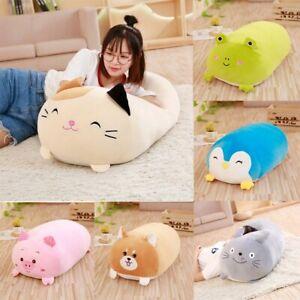 Squishy Chubby Pillow Soft Animal Cartoon Cushion Plush Toy Stuffed Pillow GB a
