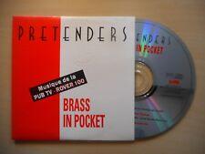 PRETENDERS : BRASS IN POCKET [ CD SINGLE ]