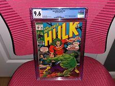 The Incredible Hulk #141 CGC 9.6 Origin and 1st App Doc Samson