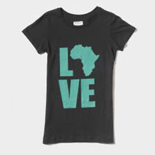 Krochet Kids Love Africa Tee (XS) Black