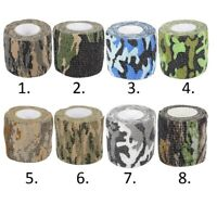 Camouflage Tape Camo Tape For Hunting Airsoft Stealth Hide Gun Bow Gear War Game