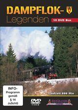 10 DVD Box Dampflok-Legenden Rio Grande
