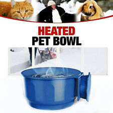 Pet Dog Cat USB Automatic Heated Cage Feed Constant Temperature Feed Water Bowl