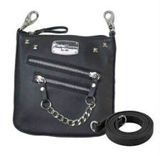 Harley-Davidson® Women's Chain Gang Leather Deluxe Clipbag CG2351L-BLACK