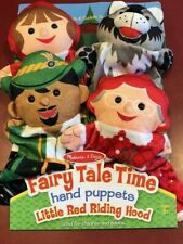 Melissa & Doug Fairy Tale Time Hand Puppets - Little Red Riding Hood #9088 NEW