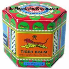 Hong Kong Tiger Balm Cream (RED / WARM) 19.4G/box (total: 12 boxes)