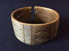 Bracelet Gourmantché bronze Afrique ethnie Burkina Faso