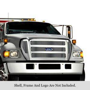 2004-2015 Ford F650 F750 Stainless Steel Billet Grille