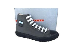 New Authentic PRADA Mens Shoes Sz US12 EU45 UK11 4T3218