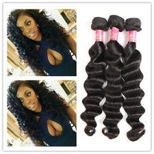 3Bundle150g Loose Deep Wave Unprocessed Brazilian 7A Human Hair Extension Weave