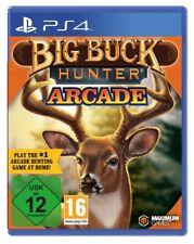 PS4 JUEGO BIG BUCK HUNTER Arcade jagdspiel Producto NUEVO