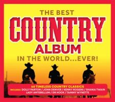 Best Country Album in the World Ever Various Artists 3 CD DIGIPAK NEW