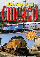 ULTIMATE CHICAGO, THE PENTREX DVD VIDEO BNSF, METRA, UP, CN, CP, IHB, AMTK, CSX