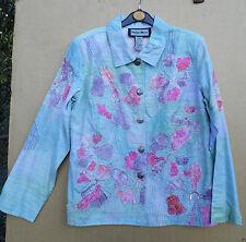 Indigo Moon Viscose Button Coats & Jackets for Women