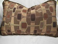 Pindler Pindler Fabrics 8447 Lumbar Geometric Pillow Feather Down 17 In x 11 In
