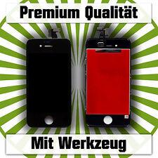 iPhone 4s Display LCD Glas Bildschirm Touchscreen schwarz black mit Werkzeug