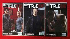 True Blood French Quarter #'s 2/3/4 1:10 Photo Variants Bill/Sookie/Eric
