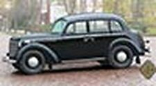 ACE 72518 1/72 Plastic German 1938 Olympia Sedan 4 Door