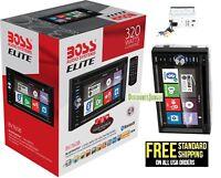 "Boss ELITE BV760B Double Din Car DVD/CD/USB/Bluetooth Receiver 6.2"" TouchScreen"