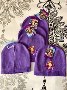DISNEY SOFIA the first Lilac Beanie Hat ** BNWT ** one size