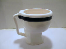 Matscot The Toilet Mug Ceramic Coffee Mug, Bowl Signed Stumpy, Gag Gift, Taiwan