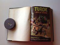 BOUND VOLUME GOLD KEY COMICS TUROK DOCTOR SOLAR MIGHTY SAMSON KORAK JET DREAM AA