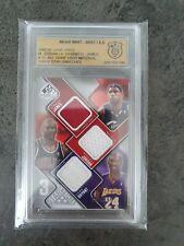 2009 SP Game Michael Jordan Lebron James Kobe Bryant Game Used Jersey - Read!!