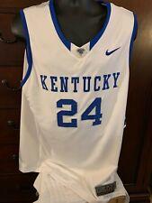 Nike Elite Kentucky Wildcats Basketball Jersey [Xl+2 Lengths]
