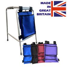 Walking Frame Bag - Walker Bag - Zimmer Frame Bag for storage - Walking Aid Bag