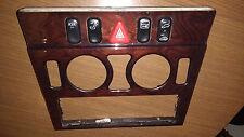 Mercedes w202 Moldura de madera de peligro y switches 2026832808 LIMPIAPARABRISAS ASR Centro Consola