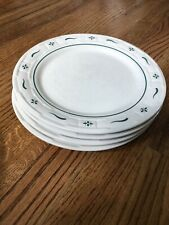 One Longaberger Pottery Green Woven Traditions Dinner Plate(7 Available)
