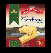 Paterson's Scottish Cream Shortbread Fingers 380g
