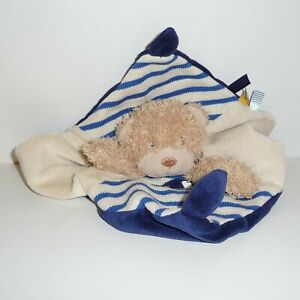 Doudou Ours Pommette - Collection Marin