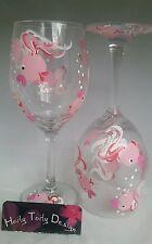 Pink Fish Wine Glasses