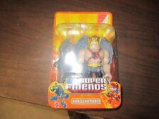 "Mattel NEW World of DC Super Friends Hawkman Big Power Hero Action Figure Toy 6"""