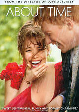 About Time Movie DVD Blu-Ray NEW Rachel McAdams Domhnall Gleeson FREE SHIPPING