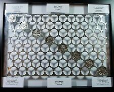 Scalloped  Webbing - 84 holes Huge Rare Royal Canadian Mint