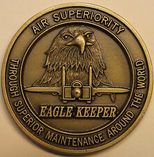 F-15 EAGLE KEEPER Aircraft Maintenance Air Force Challenge Coin  St